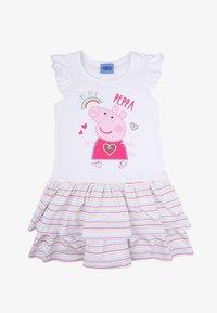 Peppa Pig - PEPPA PIG - Print T-shirt - white - 0