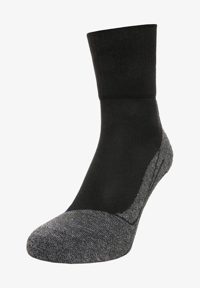 TK2 SHORT COOL - Sports socks - black/grey