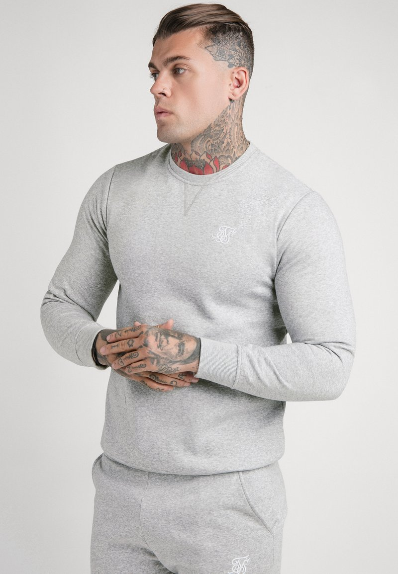 SIKSILK - Sweatshirt - grey marl