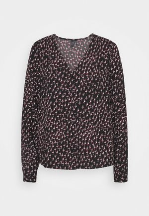 VMTANJA V NECK - Blouse - black