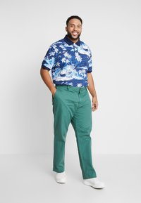 Polo Ralph Lauren Big & Tall - CLASSIC FIT BEDFORD PANT - Chino kalhoty - washed forest - 1