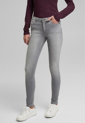Jeans Skinny Fit - grey medium washed
