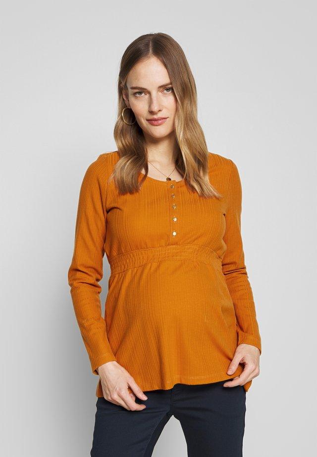 MLNAIA LIA - Långärmad tröja - nugget