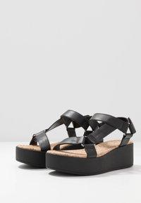 Call it Spring - LANCYY - Sandály na platformě - black - 4