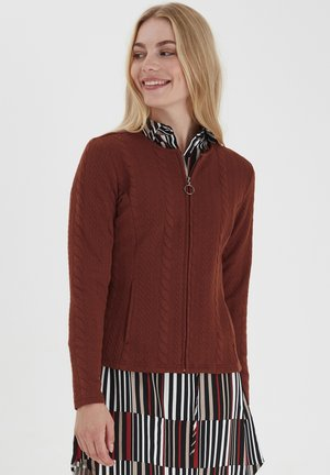 Cardigan - barn red