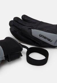 Reusch - EXPLORER PRO RTEX® PCR  - Rękawiczki pięciopalcowe - steel grey/black - 2