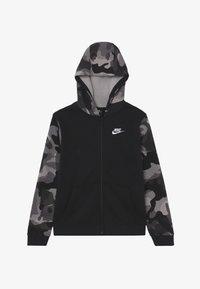 Nike Sportswear - CLUB - Hoodie met rits - black/white - 2