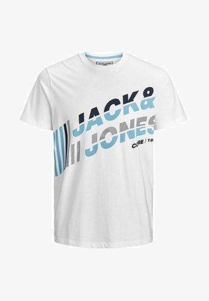 JCOALPHA TEE - Print T-shirt - white