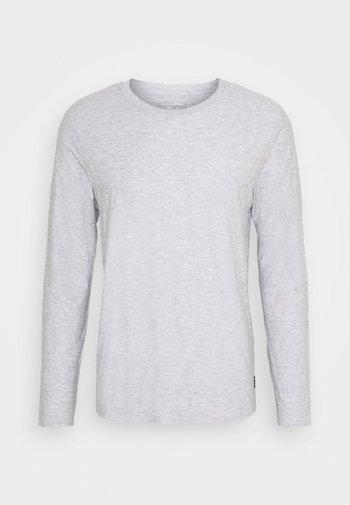 NEW STRUCTURE - Pitkähihainen paita - light stone grey melange