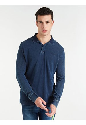 Polo shirt - bleu