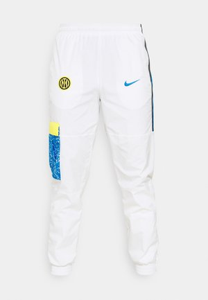 INTER MAILAND PANT  - Artykuły klubowe - white/tour yellow/black/blue spark
