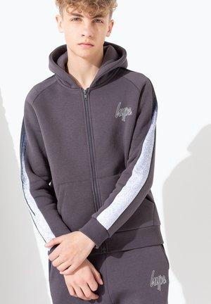 DRIP PANEL - Sweater met rits - charcoal