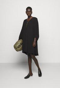 Bruuns Bazaar - LUA ALLURA DRESS - Denní šaty - black - 1