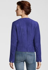 deercraft - MIA ZV - Leather jacket - crown blue - 1