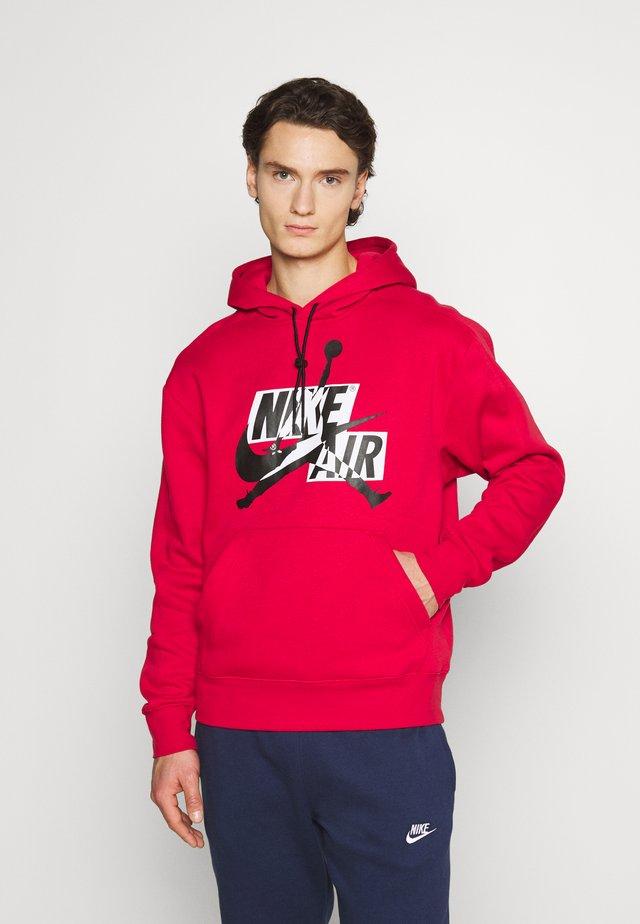 Hoodie - gym red