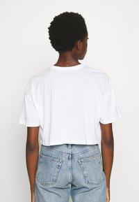 Even&Odd - 2 PACK - Basic T-shirt - black/white - 2