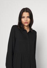 Vila - VIMOROSE SHIRT DRESS - Day dress - black - 3