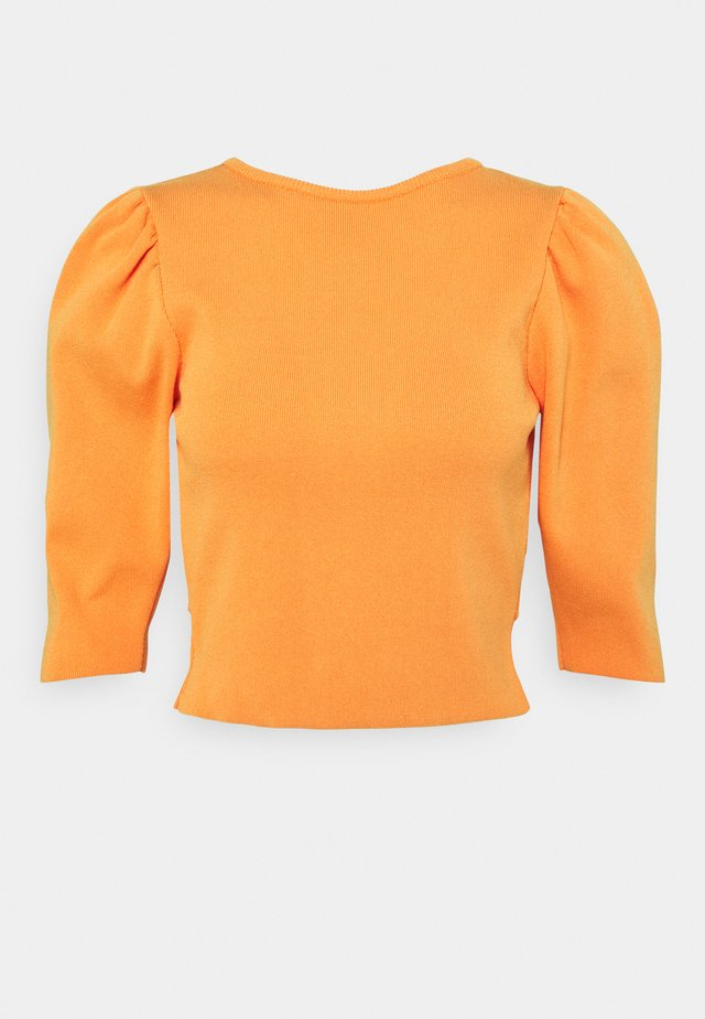 XIMENA  - T-shirt à manches longues - orange