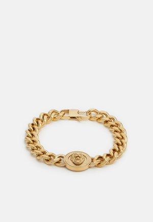 LION COIN CHAIN BRACELET UNISEX - Armbånd - gold-coloured