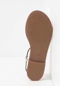Anna Field - T-bar sandals - gold - 6