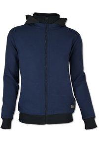Carlo Colucci - Zip-up hoodie - blau - 0