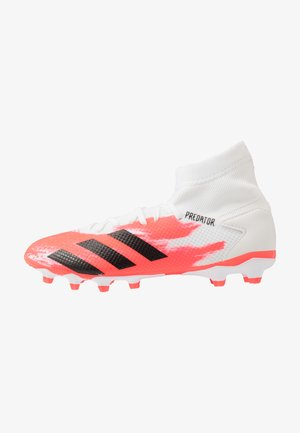 PREDATOR 20.3 MG - Moulded stud football boots - footwear white/core black/pop