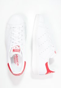 adidas Originals - STAN SMITH - Sneakers - running white/collegiate red - 1