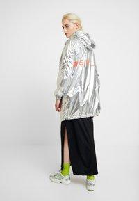 Replay - Short coat - sliver/orange - 2
