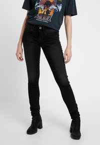 G-Star - LYNN MID - Jeans Skinny Fit - dusty grey - 0