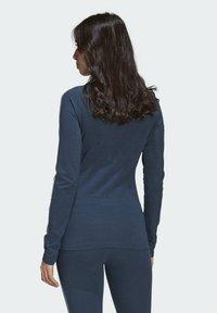 adidas Originals - FAKTEN LONG SLEEVE TEE - Long sleeved top - blue - 1