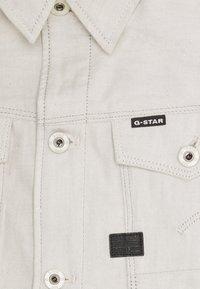 G-Star - ARC 3D SLIM JKT - Jeansjacka - kara ecru denim - 2