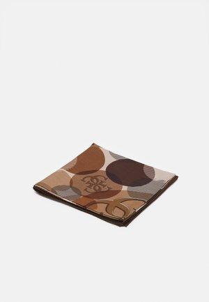 PRINTED FOULARD - Foulard - brown