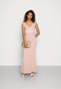 WAL G. - EMMA LACE  DRESS - Ballkjole - blush pink - 1