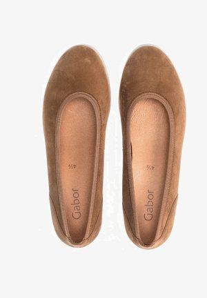 Ballet pumps - braun