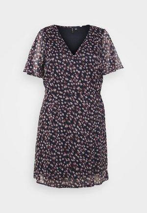 VMKAY WRAP DRESS  - Day dress - navy blazer