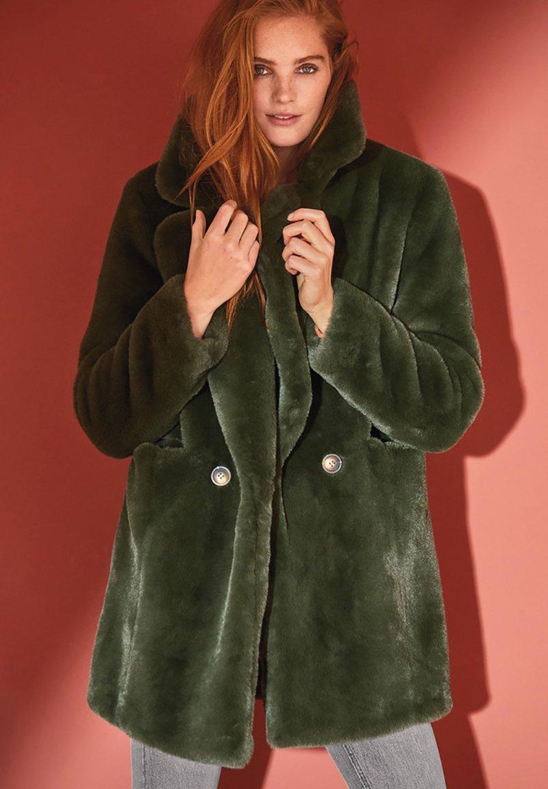 Next - Wintermantel - green