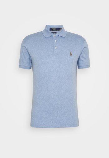 SLIM FIT SOFT COTTON POLO SHIRT - Polo shirt - jamaica heather