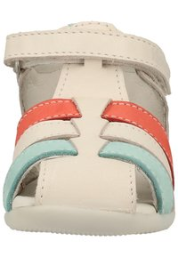 Kickers - Chaussures premiers pas - white/pink/blue - 2