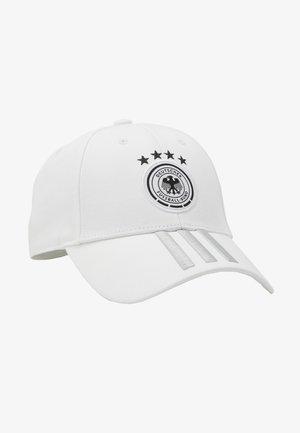 DFB DEUTSCHLAND CAP H/A - Cap - white/grey/black