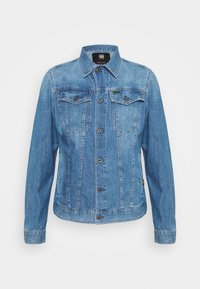 G-Star - 3302 SLIM JKT - Spijkerjas - faded orion blue - 4