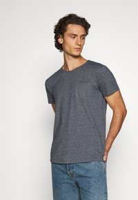 edc by Esprit - GRIND - T-shirt basic - navy - 0