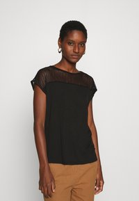 Anna Field - Print T-shirt - black - 0