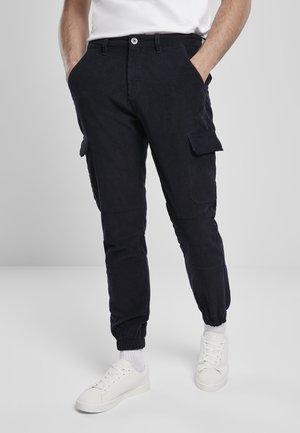 Cargo trousers - midnightnavy