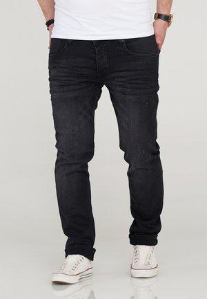 MJBOBBY - Slim fit jeans - black