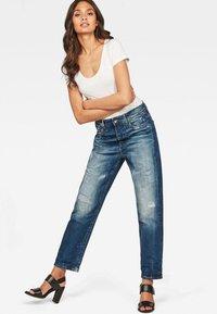G-Star - BOYFRIEND - Relaxed fit jeans - dark blue - 1