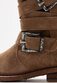 Felmini Wide Fit - GREDO - Cowboy/Biker boots - momma - 2