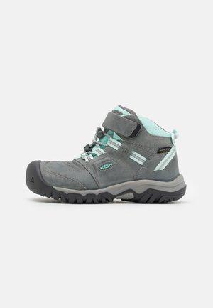 RIDGE FLEX MID WP UNISEX - Hiking shoes - grey/blue tint