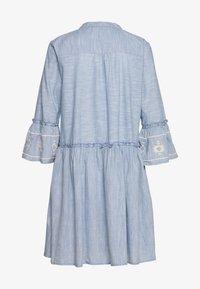Part Two - SOPHIA - Day dress - dusky blue - 1