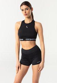 carpatree - CROSSBACK - Reggiseno sportivo - black - 0