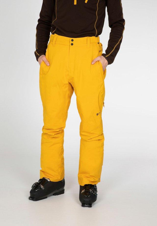 MIIKKA - Pantaloni da neve - dark yellow